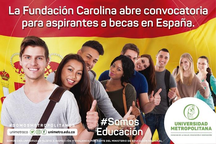 Convocatoria de Becas Fundación Carolina