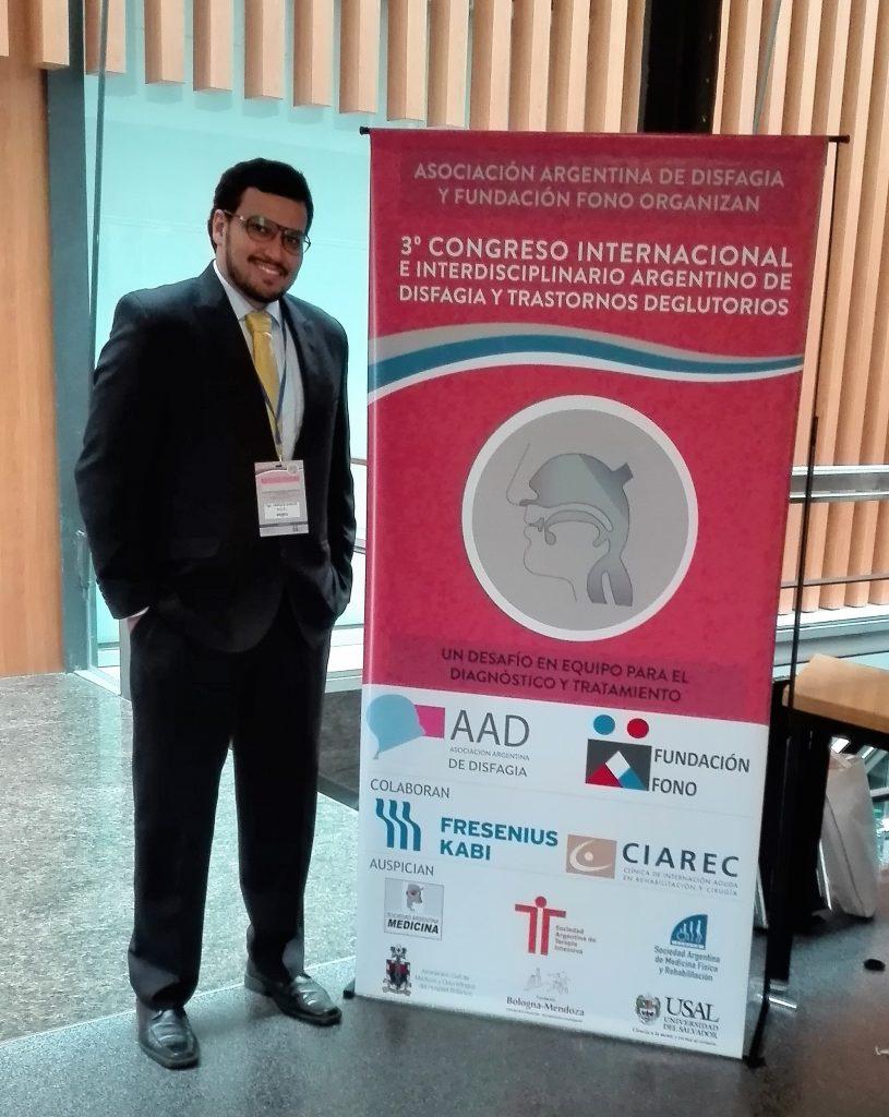 Unimetro representó a Colombia en el III Congreso Internacional e Interdisciplinario Argentino de Disfagia y Trastornos Deglutorios
