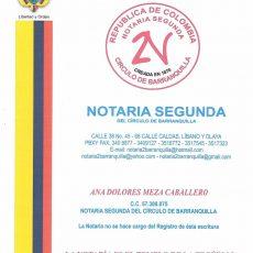 Portada Notaria 2da