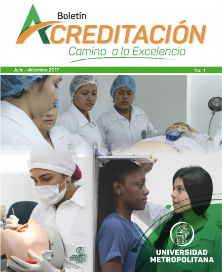 Boletin Acreditación No. 1 portada